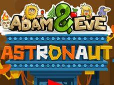 Adam and Eve Astronaut