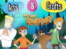 Be Cool Scooby-Doo Arts and Crafts