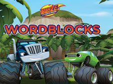 Blaze and the Monster Machines Word Blocks