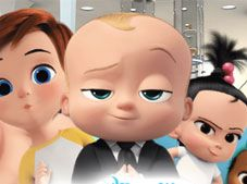 Boss Baby Back in Business Matching Pairs