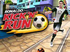 Cristiano Ronaldo Kick n Run