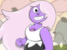 Crystal Gem Amethyst Dress Up