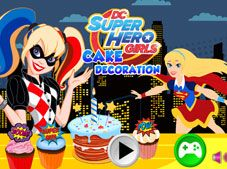 DC Super Hero Girls Cake Decoration