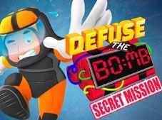 Defuse the Bomb Secret Mission