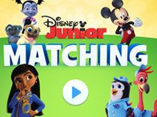 Disney Junior Matching