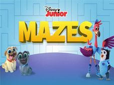 Disney Junior Mazes