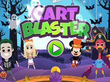 DisneyNow Halloween Cart Blaster