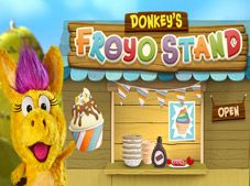 Donkeys FroYo Stand
