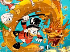 DuckTales Jigsaw Puzzle Collection