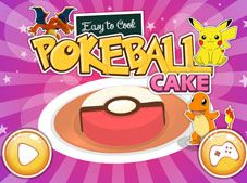 Easy To Cook Pokeball Cake