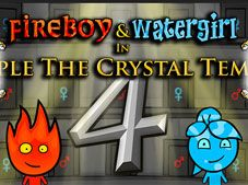 Fireboy and Watergirl 4 Crystal Temple