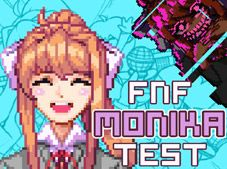 FNF Monika Test