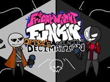 FNF vs Detras Mental Decimation