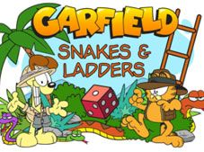 Garfield Snake And Ladders