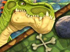 Gigantosaurus Tic Tac Toe