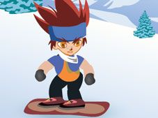 Gingka and the Snowboard