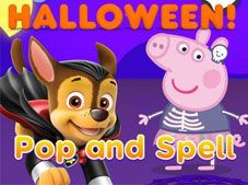 Halloween Pop and Spell