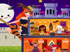 Halloween Princess Holiday Castle