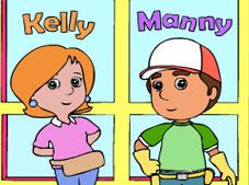 Handy Manny Online Coloring