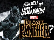How Well Do You Know Black Panther