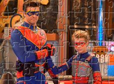 Kid Danger and Captain Man Puzzle