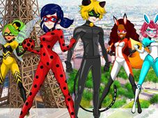 Ladybug and Cat Noir Maker