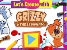 Lets Create with Grizzy and the Lemmings