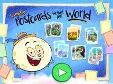 Lunas Postcards Around the World