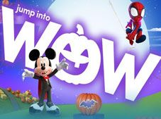 Mickey and Spidey Halloween Game