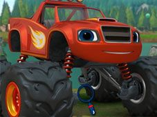 Monster Truck Hidden Wheels