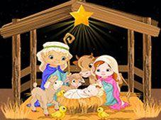 Nativity Sliding Puzzle