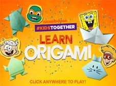 Nickelodeon Learn Origami