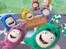 Oddbods Pizza Race
