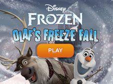 Olafs Freeze Fall