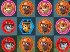 Paw Patrol 3 in a Row