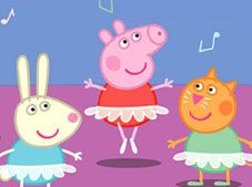 Peppa Pig Find the Differences