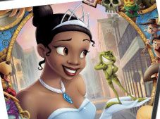 Princess And The Frog Spin Puzzle
