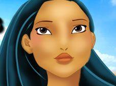 Princess Pocahontas Makup