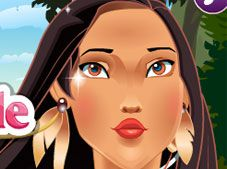 Princess Pocahontas Noble Makeover