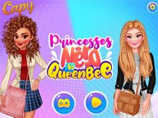 Princesses Nerd Vs Queen Bee