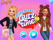 Princesses Quiz Time