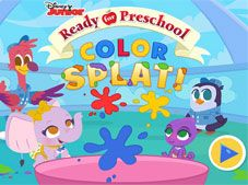 Ready for Preschool Color Splat