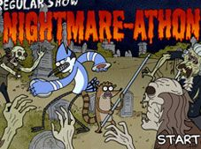 Regular Show Nightmare Athon