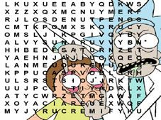 Rick and Morty Word Search