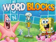 Spongebob Word Blocks