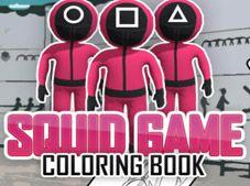 Squid Game Coloring Book