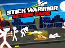 Stick Warrior Action Game