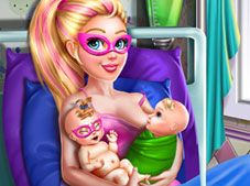 Super Doll Twins Birth