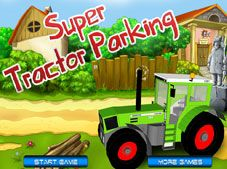 Super Tractor Parking