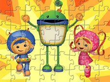 Team Umizoomi Puzzle Game